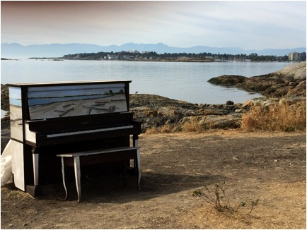 piano at cordorva bay